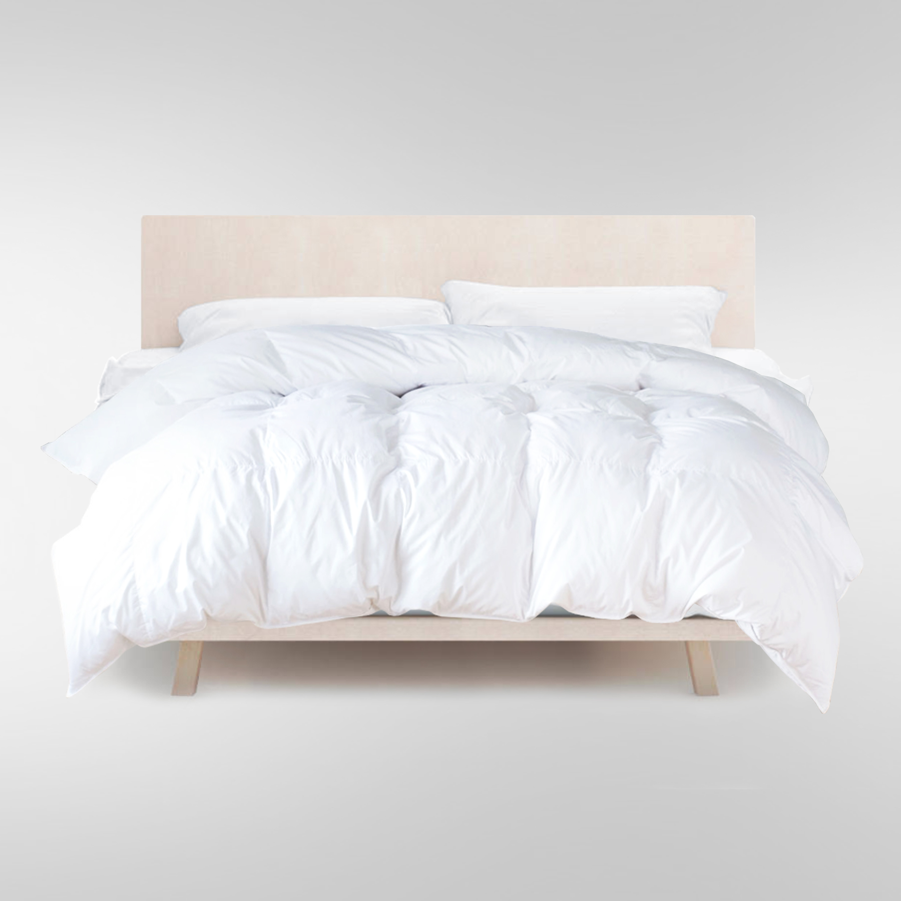 Classic Down Comforter King Size White Down United Feather Down