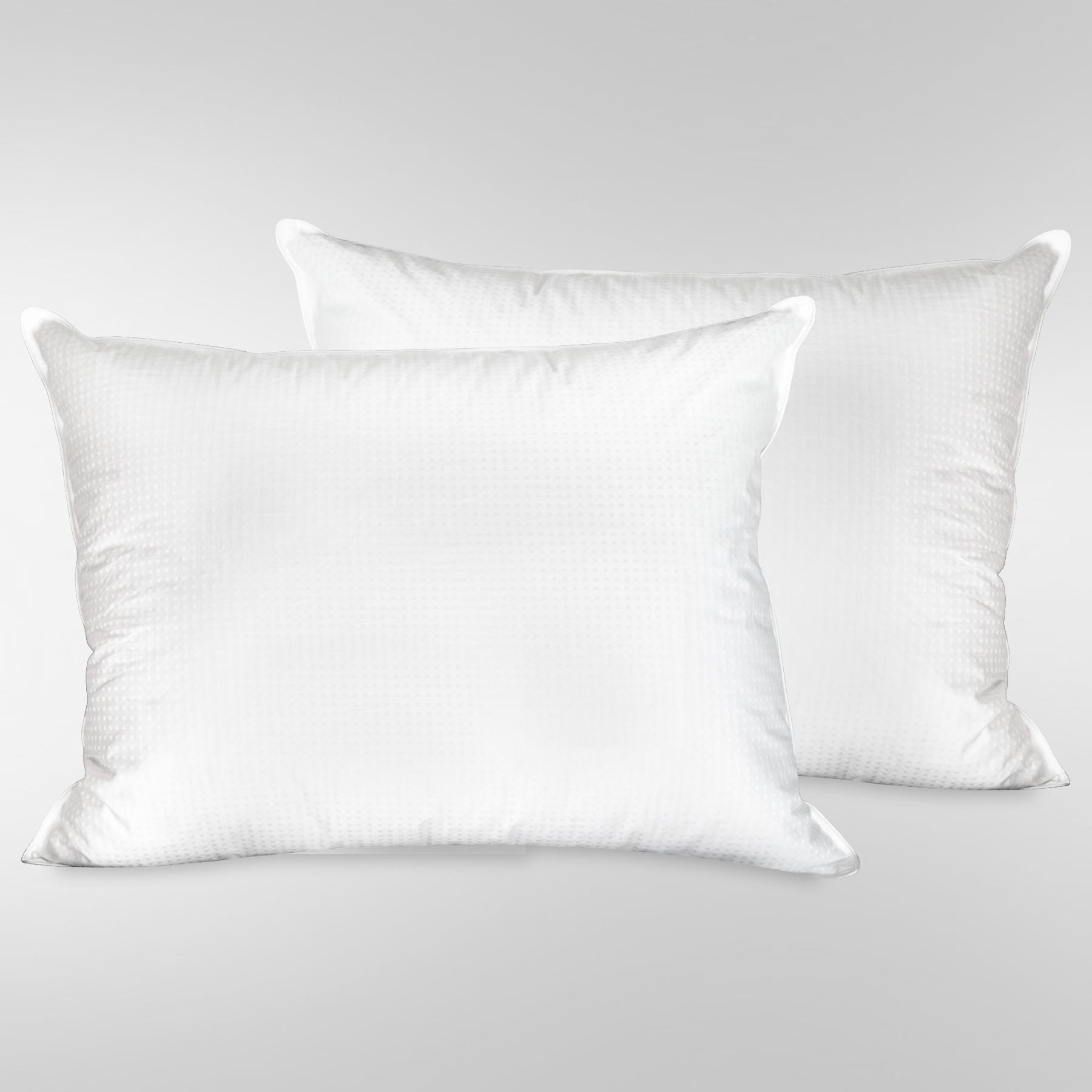 Ufd Heirloom Swiss Dot Standard Size 2 Pillow Bundle